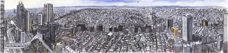 Tokyo cityscape tokyo city japan