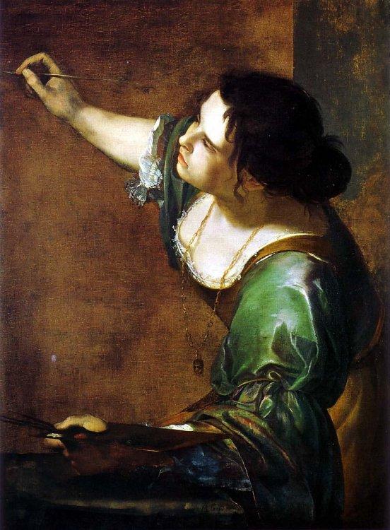 Artemisia gentileschi allegory of painting