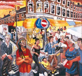 Electric avenue brixton market south west london