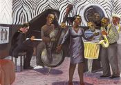 Harlem lenox lounge zebra room sugar hill quartet and singer