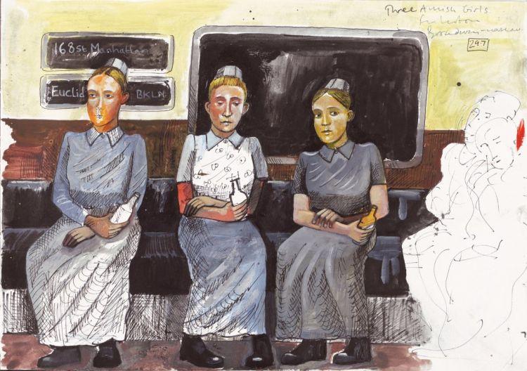 New york metro amish girls study