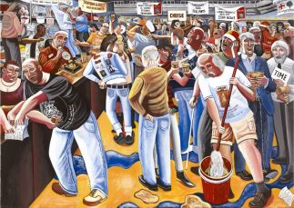 Night on mare street hackney pig's ear beer festival