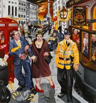 Nighthawks charing cross west end london