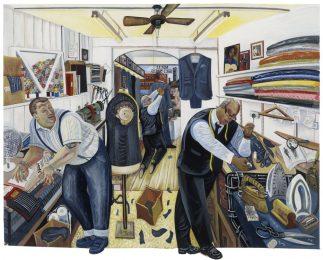 Threadneedleman tailors walworth road rock of eye nulli secundus