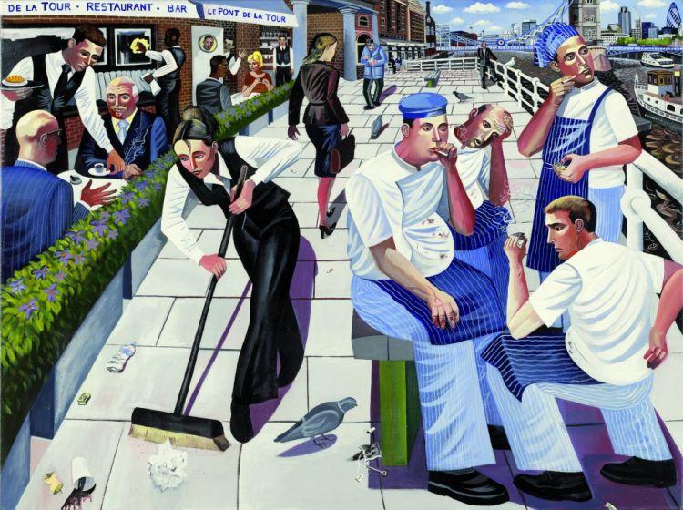 Butler's wharf tower bridge french chefs