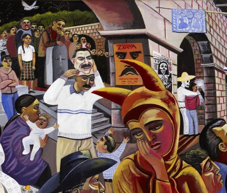 Dia de los muertos day of the dead san miguel cemetery panteon general oaxaca mexico requiem