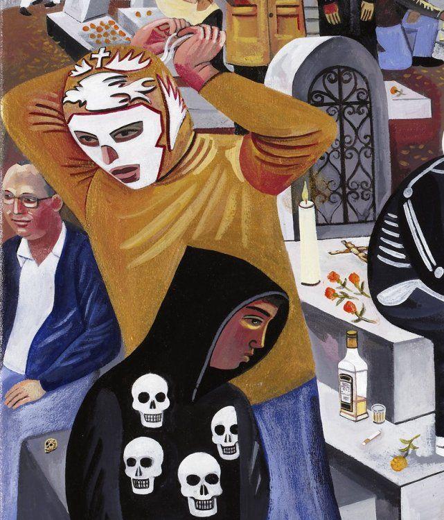 Dia de los muertos day of the dead san miguel cemetery panteon general oaxaca mexico requiem copy (14) copy copy