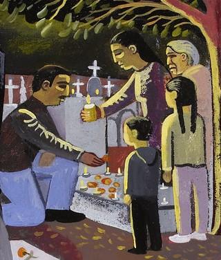 Dia de los muertos day of the dead san miguel cemetery panteon general oaxaca mexico requiem copy (15) copy copy