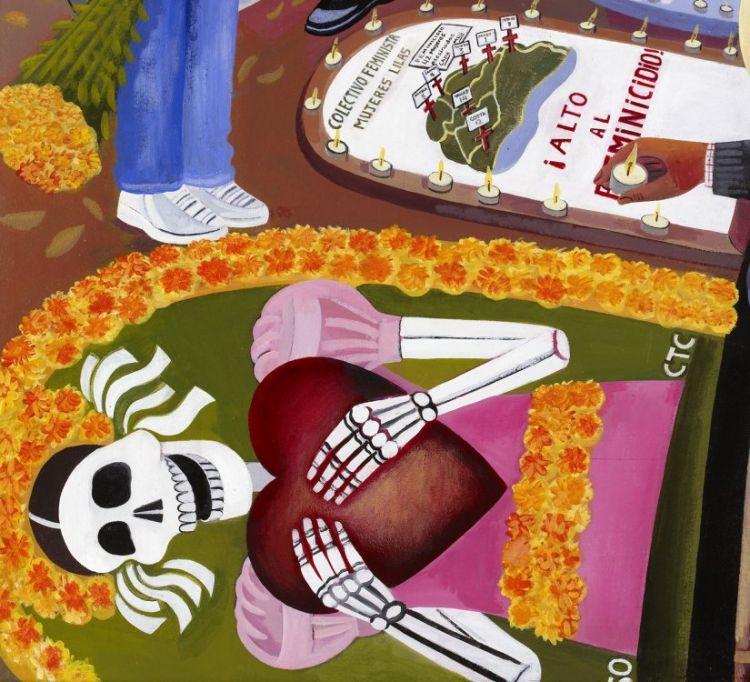 Dia de los muertos day of the dead san miguel cemetery panteon general oaxaca mexico requiem copy (2)
