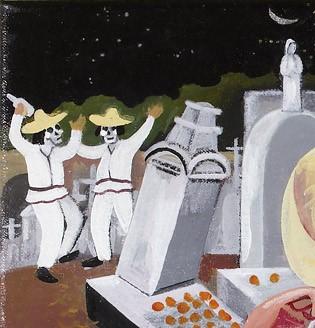 Dia de los muertos day of the dead san miguel cemetery panteon general oaxaca mexico requiem copy (2) copy