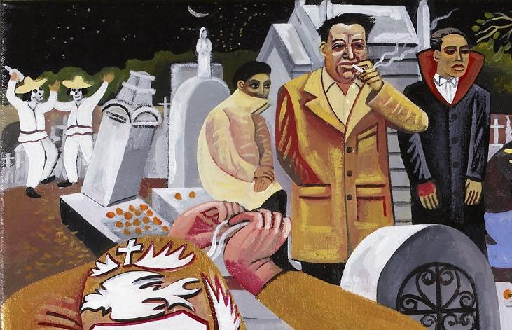 Dia de los muertos day of the dead san miguel cemetery panteon general oaxaca mexico requiem copy (3) copy 2