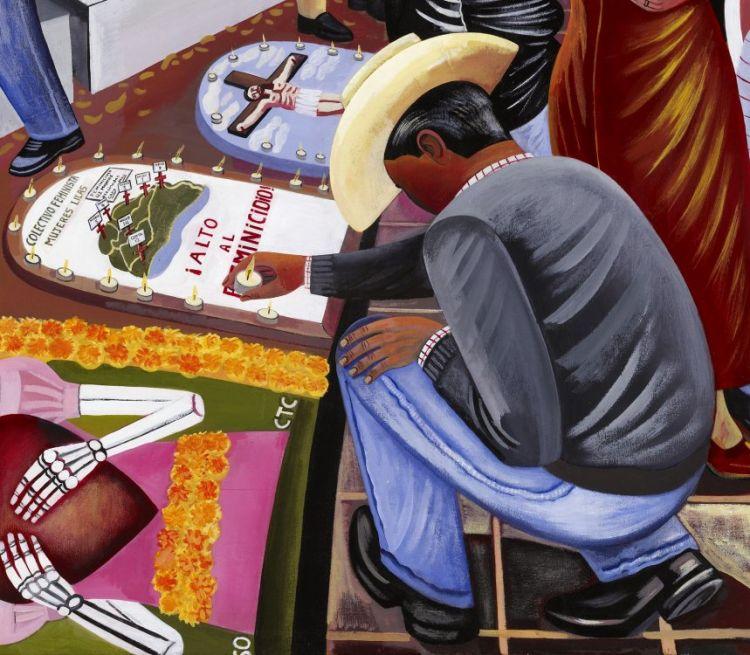 Dia de los muertos day of the dead san miguel cemetery panteon general oaxaca mexico requiem copy (9) copy copy