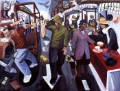 East street market walworth road walworth painting