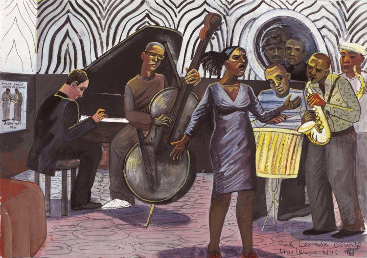 Harlem lenox lounge zebra room sugar hill quartet and singer