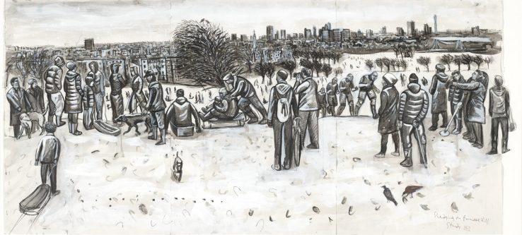 Primrose hill sledgers study