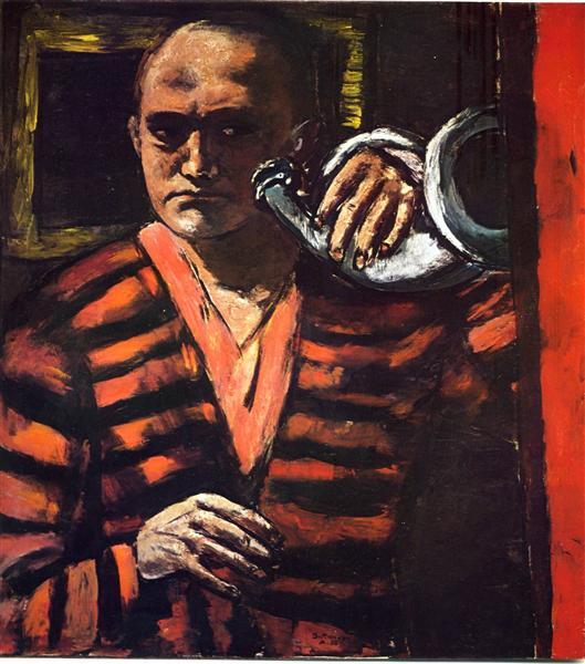 Self portrait with trumpet 1938.jpg!large