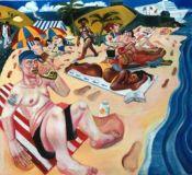Sunbathers st davids bermuda