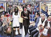 Tokyo metro maranouchi line tokyo city tokyo commuters salarymen and careerwomen japan