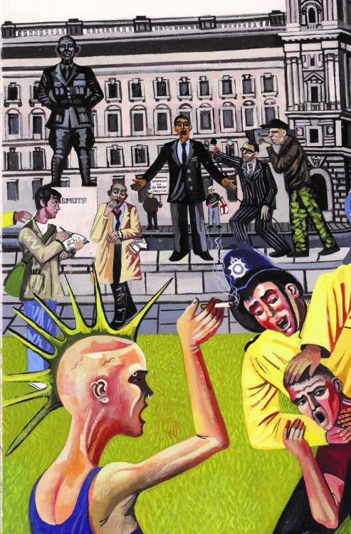 Whitehall parliament square westminster nothing to see here 11
